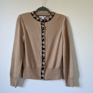St. John Collection Button Cardigan Sz 2